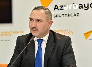 Азер Аллахверанов, председатель общественного объединения Həyat (Жизнь)