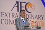 Глава Азиатской конфедерации футбола шейх Салман бин Ибрагим аль-Халифа