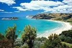 Yeni Zelandiyanın Şimal adasından görüntü. Arxiv şəkli