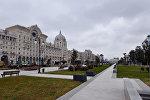 Переменная облачность в Баку