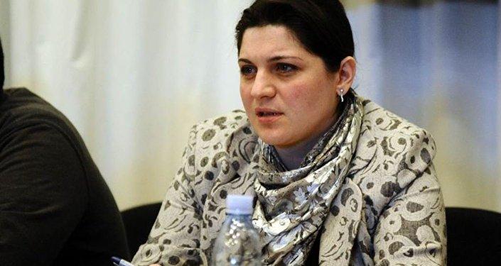 Mariam Valişvili - Gürcüstan energetika nazirinin müavini