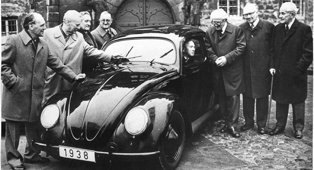Volkswagen Beetle 1938 года выпуска