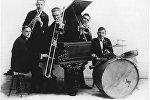 Музыканты легендарной джазовой группы Original Dixieland Jazz Band