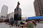 Памятник жертвам Ходжалинской трагедии