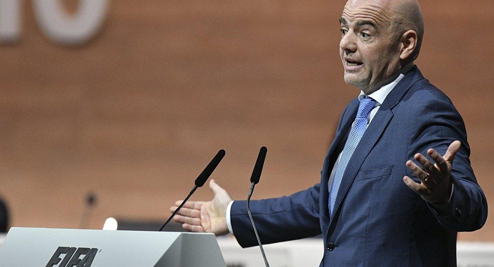Джанни Инфантино - новый президент ФИФА