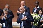FİFA-nın yeni seçilmiş prezidenti Cianni İnfantino