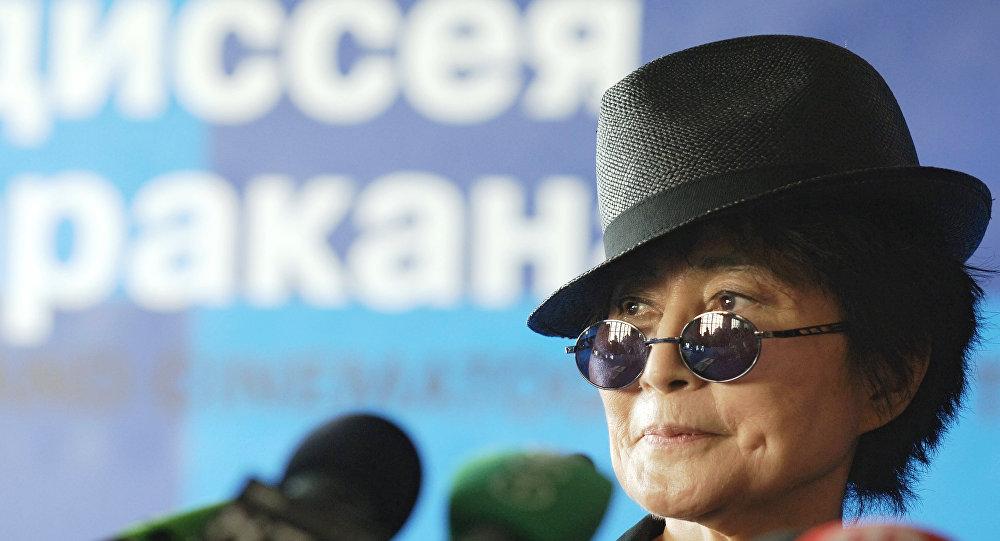 Йоко Оно. Архивное фото