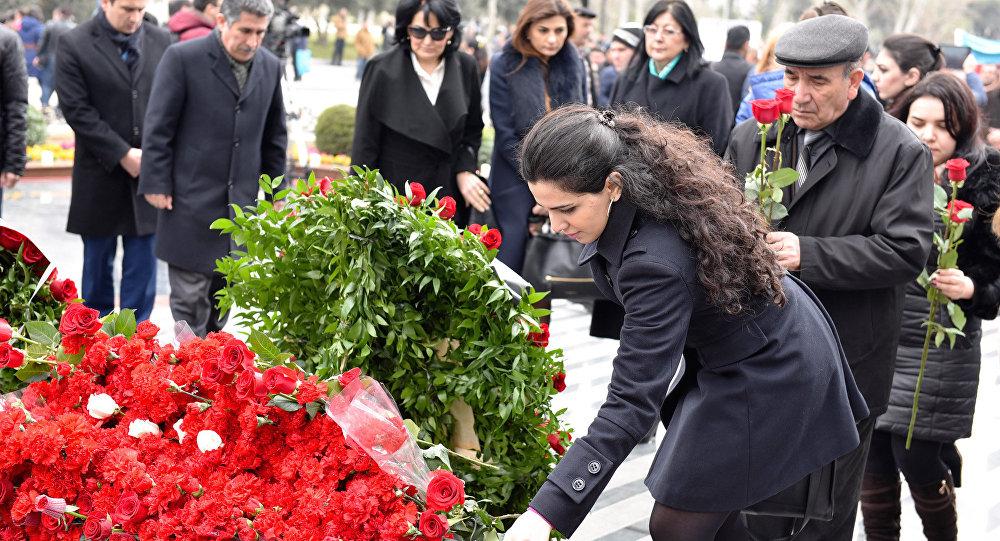ВАзербайджанской столице почтили память Ходжалинской трагедии