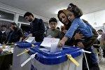 İranda parlament seçkiləri