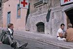 Улица с аптекой Чиканук, где прозвучало знаменитое Черт побери! (ныне улица Малая Крепостная (Кичик Гала), 8)