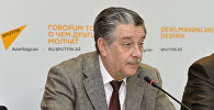 Михаил Забелин, председатель Русской общины Азербайджана, депутат Милли меджлиса (парламента) Азербайджана