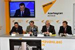 Видео-мост Баку-Москва на тему: Россия и Азербайджан: взаимодействие в гуманитарной сфере