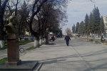 Qazaxın Mütəfəkkirlər Parkı adamların ilboyu hərəkətdə, gediş-gəlişdə olduğu yerdir