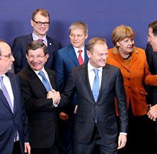 Премьер Турции и лидеры стран ЕС
