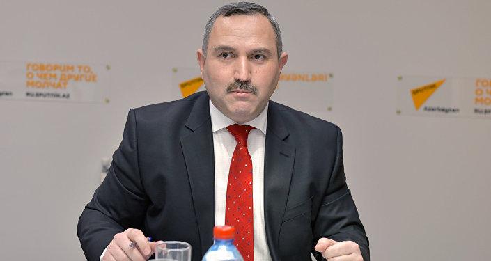 Азер Аллахверанов, председатель общественного объединения Həyat