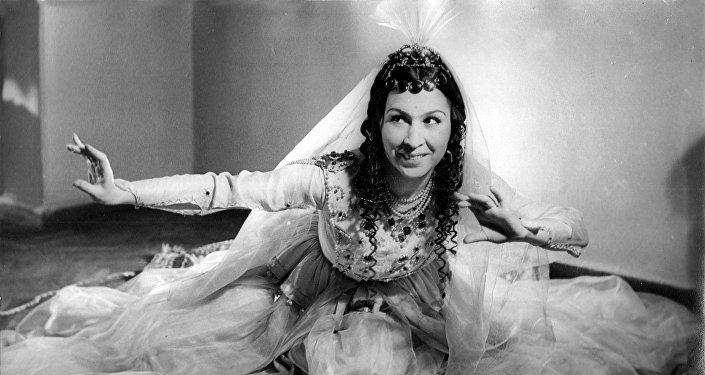 Гамер Алмасзаде, первая азербайджанская балерина