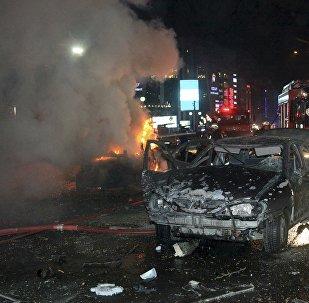 В центре столицы Турции взорвался автомобиль, начиненный взрывчаткой