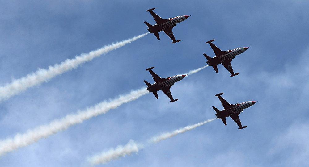 Истребители турецких ВВС. Архивное фото