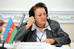 Уполномоченная по правам человека в Азербайджане Эльмира Сулейманова, фото из архива