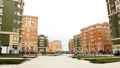 Yeni Bakı yaşayış kompleksində evlər