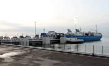 Бакинский международный морской торговый порт. Архивное фото