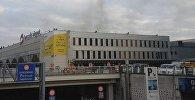 На месте взрыва в аэропорту Брюсселя. 22 марта 2016 г