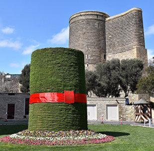 Празднование Новруза в Баку