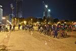 Движение велосипедистов Critical mass в Баку