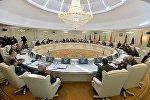 В работе комитета приняли участие делегации Азербайджана, Армении, Беларуси, Казахстана, Кыргызстана, России и Таджикистана