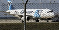 Пассажирский самолет A320 египетской авиакомпании Egypt Air, захваченный неизвестными