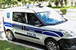 Автомобиль дежурной части полиции в Баку, архивное фото