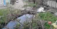 Qazax rayonunun Bakı küçəsindəki Poylu arxı
