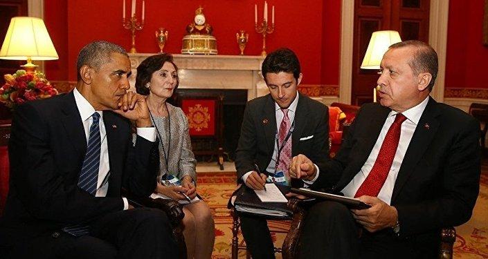 Barak Obama və Rəcəb Tayyip Ərdoğan