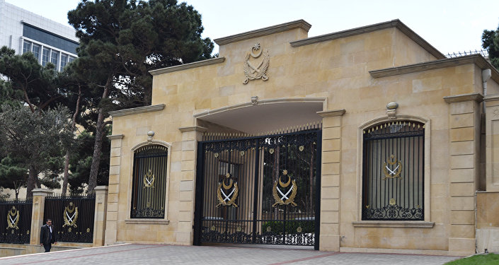 Здание министерства обороны Азербайджанской Республики