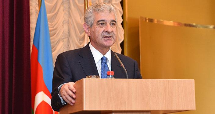 Вице-премьер Али Ахмедов, архивное фото
