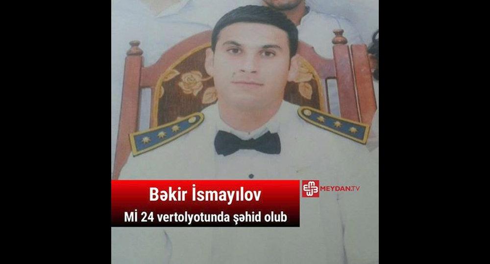 Baş leytenant Bəkir İsmayılov