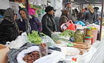 Zaqatala rayonunun Əliabad kəndindəki həftəlik bazar