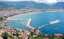Туристические объекты в Анталье, Турция. Архивное фото