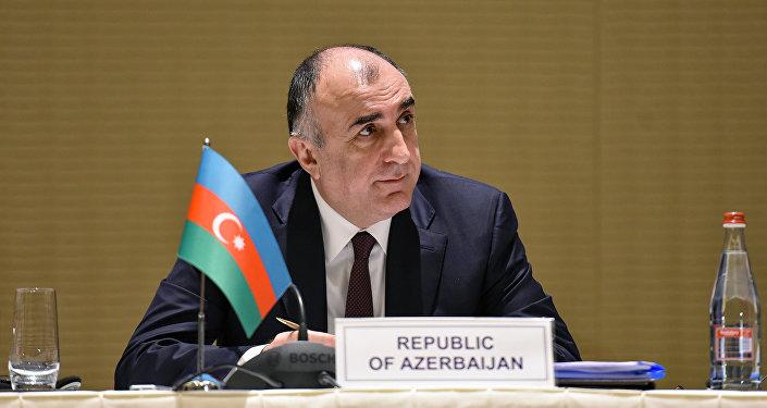 Elmar Məmmədyərov, Azərbaycan Respublikasının xarici işlər naziri