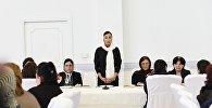 Выступление Мехрибан Алиевой на церемонии эхсана