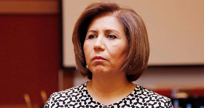 Бахар Мурадова, вице-спикер Милли Меджлиса Азербайджана