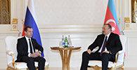 İlham Əliyev və Dmitri Medvedyev