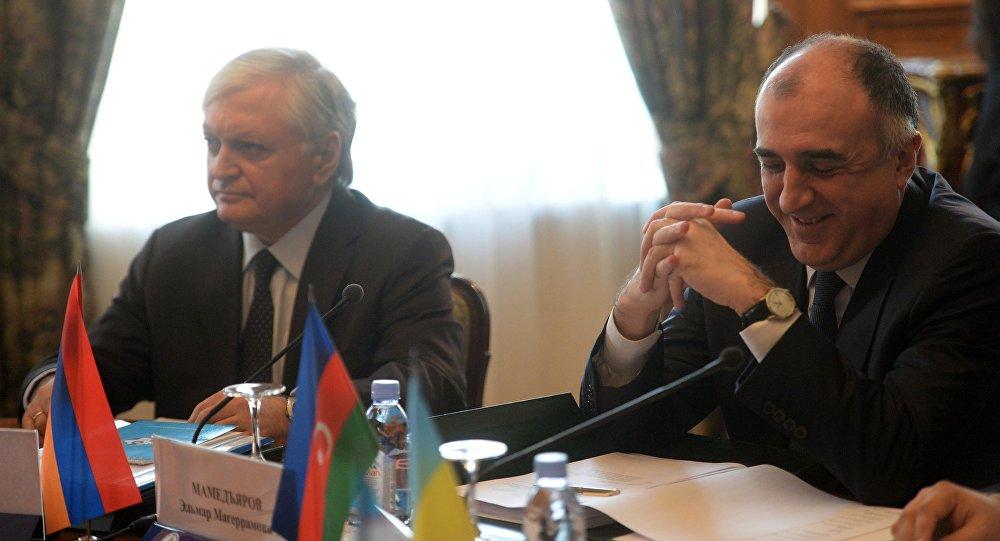 Edvard Nalbandyan və Elmar Məmmədyarov