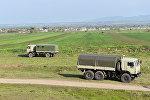 Füzuli rayonunda hərbi texnika