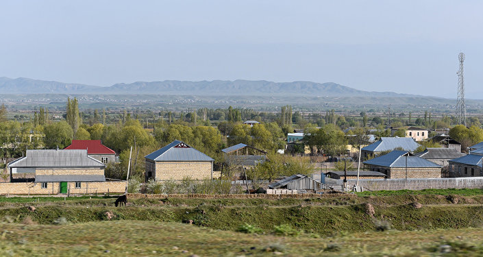 Деревня в Физулинском районе, фото из архива