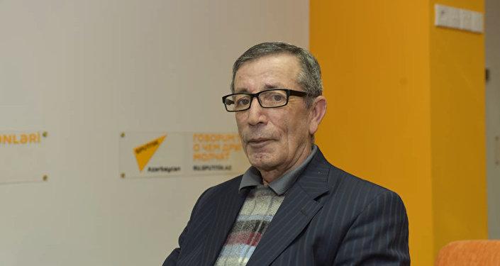 Али Мамедов, заслуженный артист Азербайджана