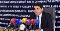 Хикмет Гаджиев, глава пресс-службы Министерства иностранных дел АР