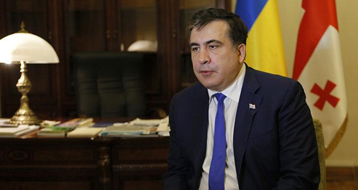 Михаил Саакашвили, фото из архива