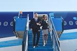 Визит Ильхама Алиева и Мехрибан Алиевой в Турцию. Архивное фото