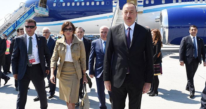 Azərbaycan Prezidenti İlham Əliyevin Türkiyəyə işgüzar səfəri